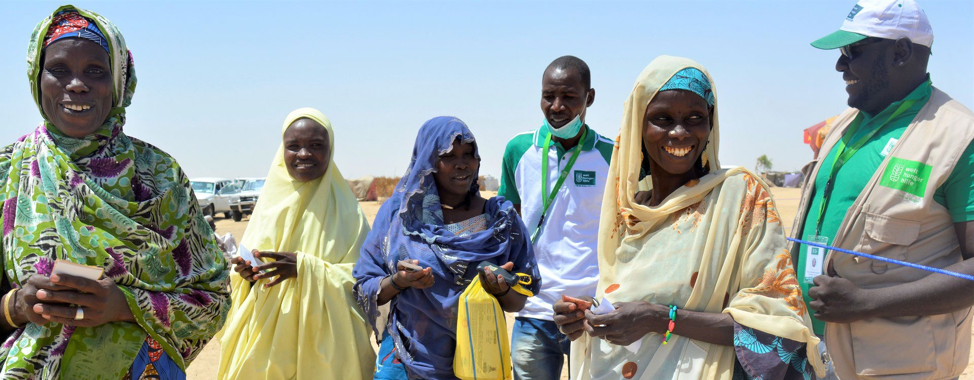 Welthungerhilfe Niger staff with community members